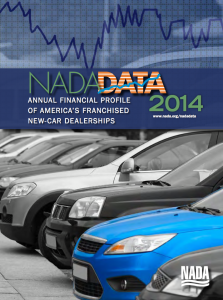 Measure Up Group Automotive Phone Training for Fixed Ops and Parts NADA Dealer Report Cover