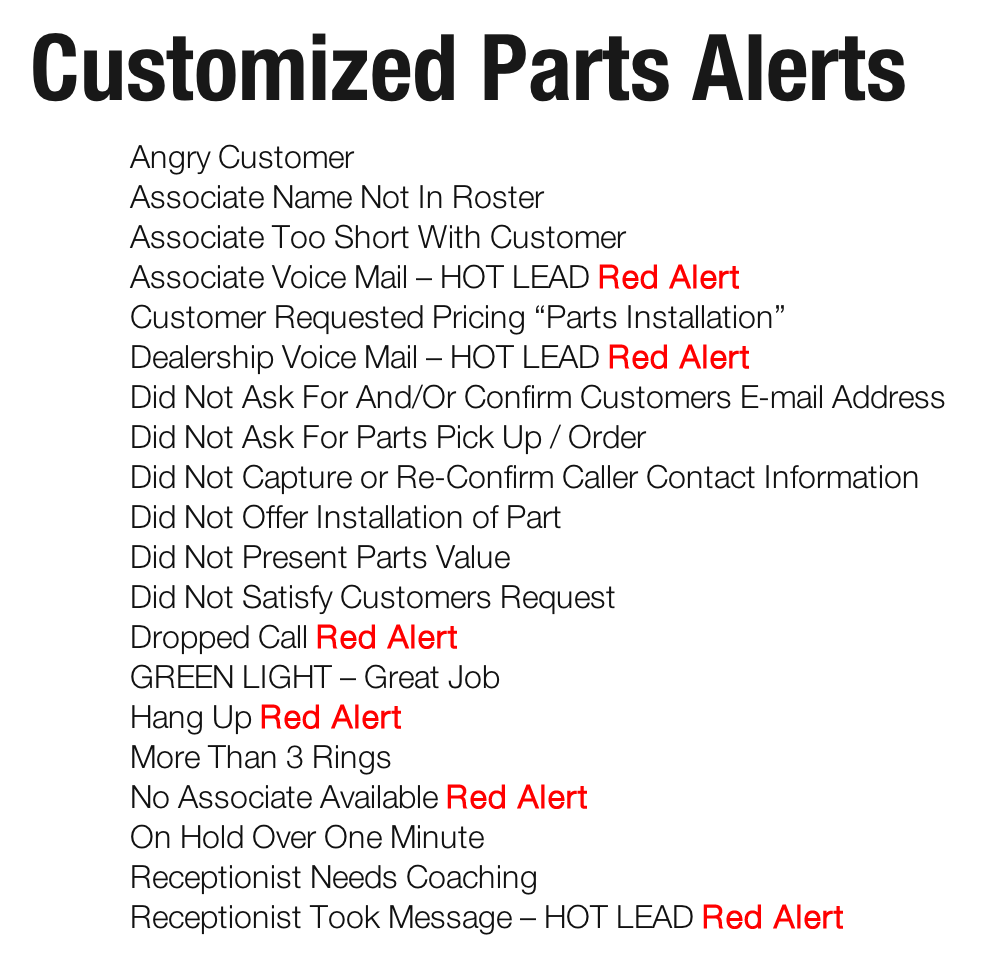 Measure Up Group Automotive Phone Training for Fixed Ops and Parts